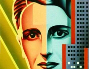 Ayn Rand closeup objetivismo