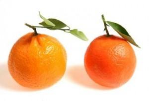 abstracciones dos naranjas