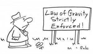 ley objetiva gravedad