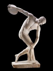 arte-griego-discobolo concretizacion de la metafisica