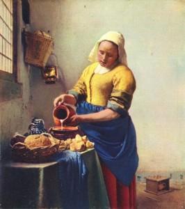 pintura-vermeer-milkmaid