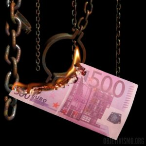 500 euros menos de libertad cadenas fuego